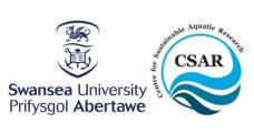 Swansea University - Centre for Sustainable Aquaculture Research - CSAR